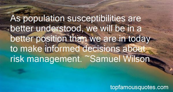 Quotes About Risk Management