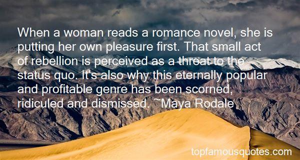 Quotes About Romance Genre