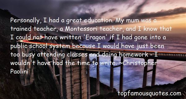 Quotes About School System