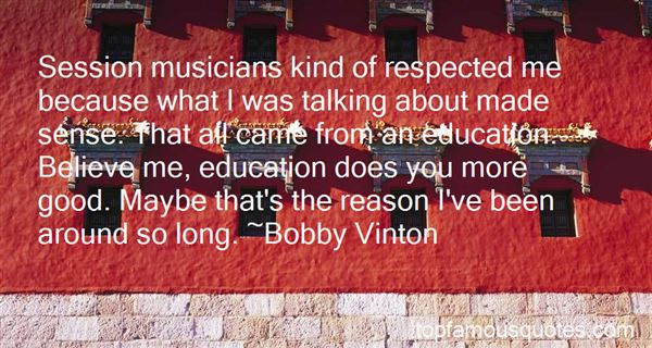 Quotes About Session Musicians