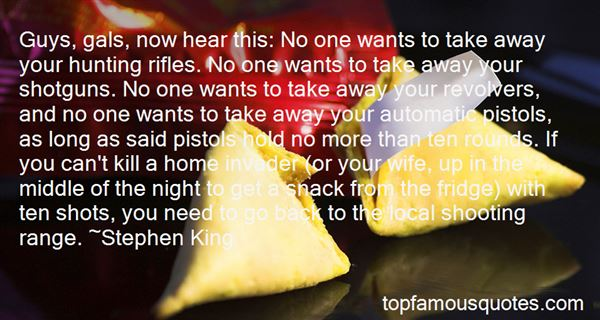 Quotes About Shooting Range
