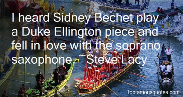 Quotes About Sidney Bechet