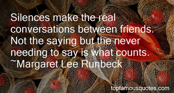 Quotes About Silence Between Friends