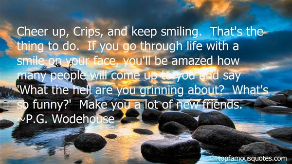 Quotes About Smiling Funny