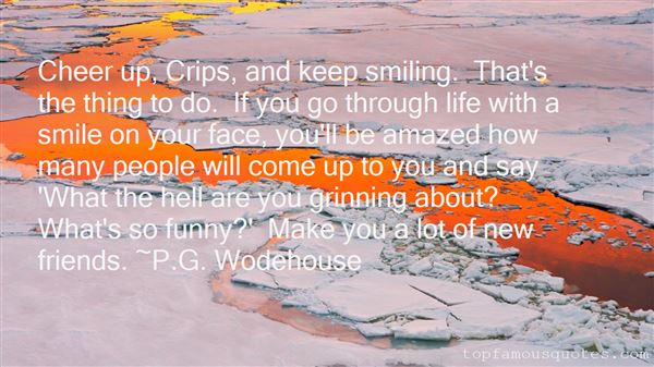 Quotes About Smiling Through Life