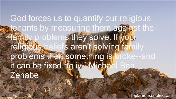 Quotes About Solving Family Problems