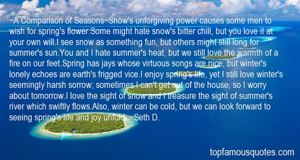 Quotes About Spring Snow