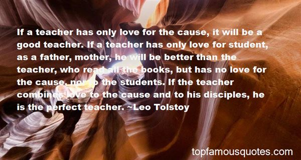 Quotes About Student Teacher Love