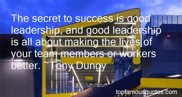 Quotes About Success And Leadership