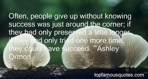Quotes About Success Around The Corner