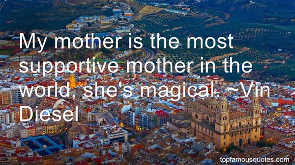 Quotes About Supportive Mother