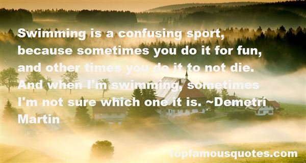 Quotes About Swimming Sport