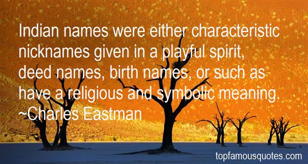 Quotes About Symbolic Meaning