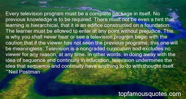 Quotes About Television And Education