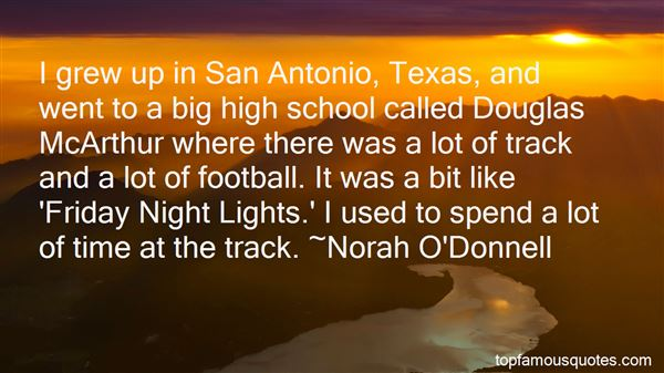 Quotes About Texas High School Football