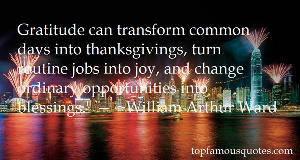 Quotes About Thanksgiving Blessings