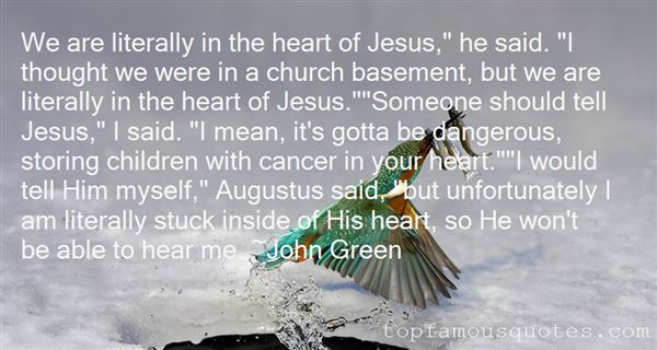 Quotes About The Literal Heart Of Jesus