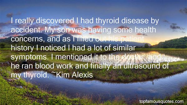 Quotes About Thyroid Disease