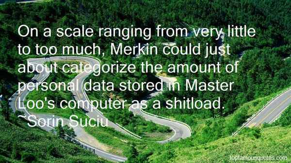 Quotes About Too Much Data