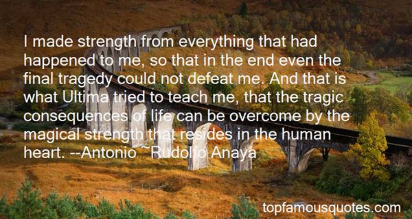 Quotes About Tragedy And Strength