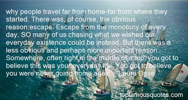 Quotes About Travel And Going Home