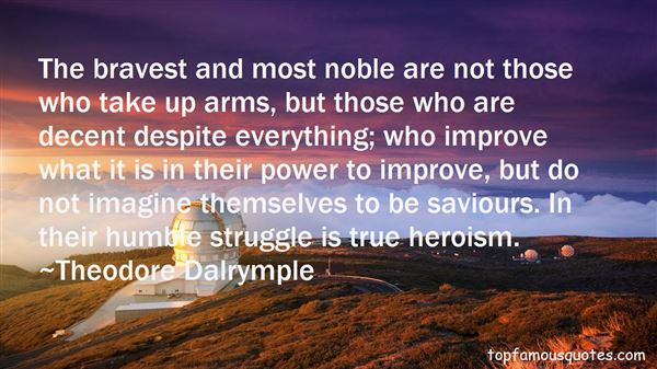 Quotes About True Heroism