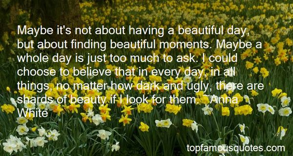 Quotes About Ugly Beauty