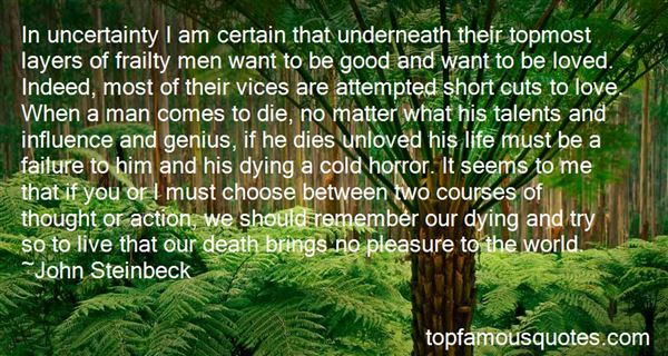 Quotes About Uncertainty Of Death