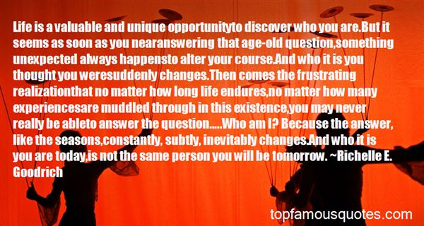 Quotes About Unexpected Changes In Life