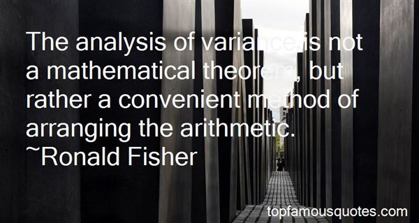 Quotes About Variance