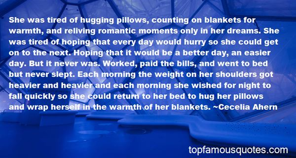 Quotes About Warm Blankets
