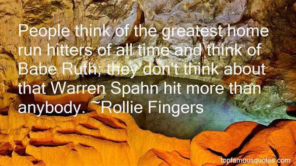 Quotes About Warren Spahn