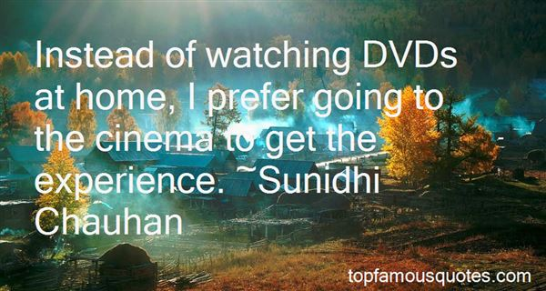 Quotes About Watching Cinema