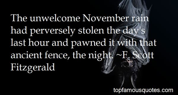 Quotes About Welcome November