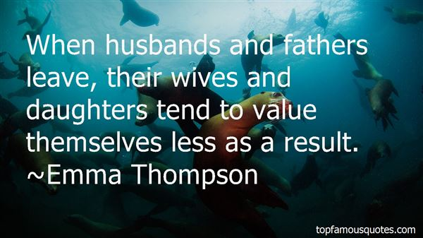Quotes About Wives And Daughters