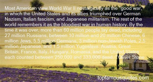 Quotes About World War 1 And 2