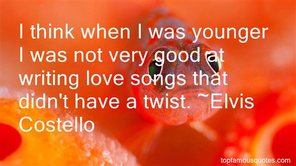 Quotes About Writing Love Songs