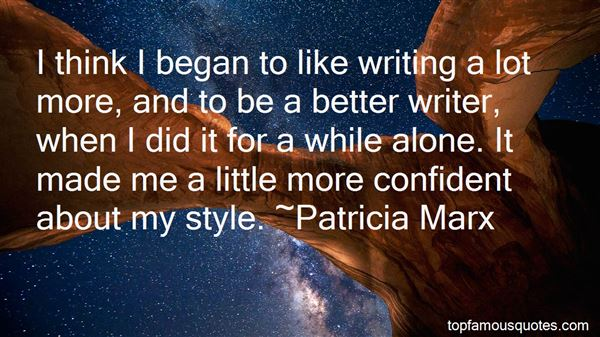Quotes About Writing Style
