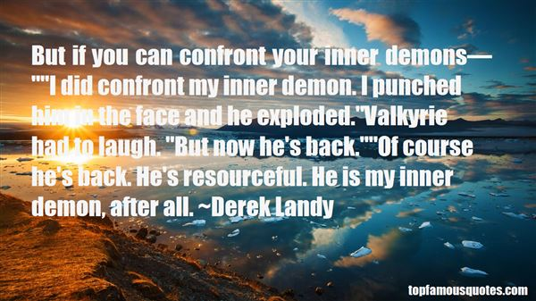 Quotes About Your Inner Demons