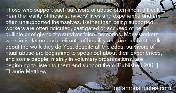Quotes About Abuse Survivors