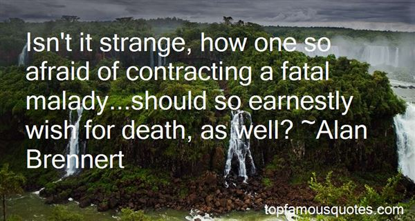 Quotes About Afraid Of Death