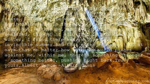 Quotes About Albert Camus