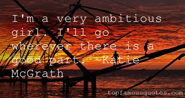 Quotes About Ambitious Girl