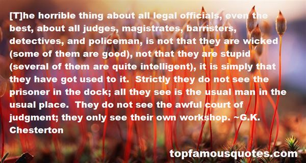 Quotes About Barristers