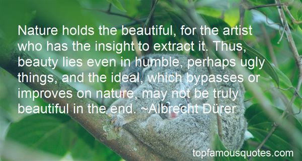 Quotes About Beauty And Nature