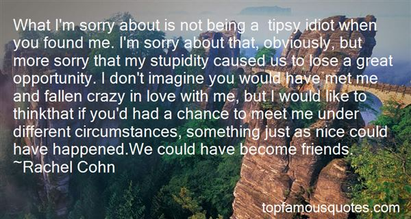 Quotes About Being Tipsy