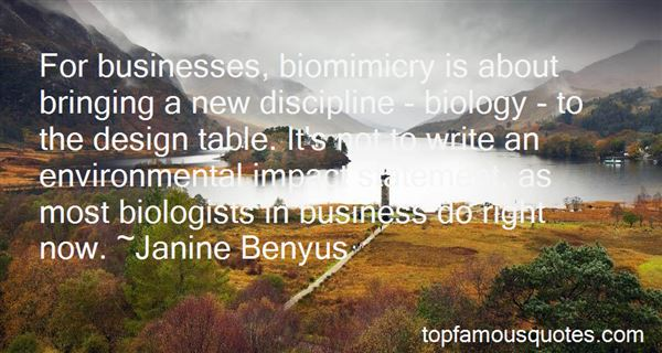 Quotes About Biomimicry