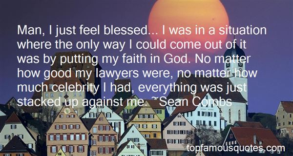 Quotes About Blessed By God