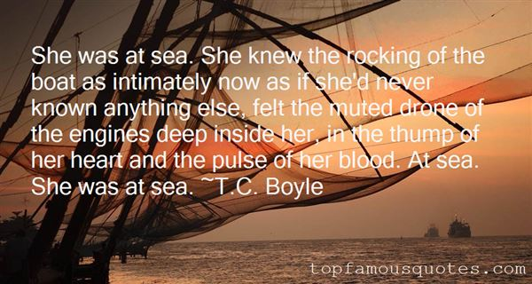 Quotes About Boat And Sea