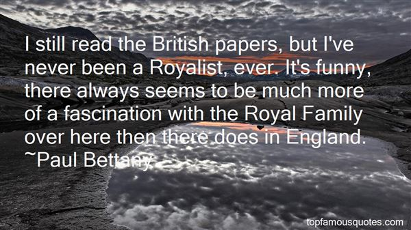 Quotes About British Royal Family